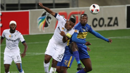 Thulani Hlatshwayo of Bidvest Wits against Cape Town City