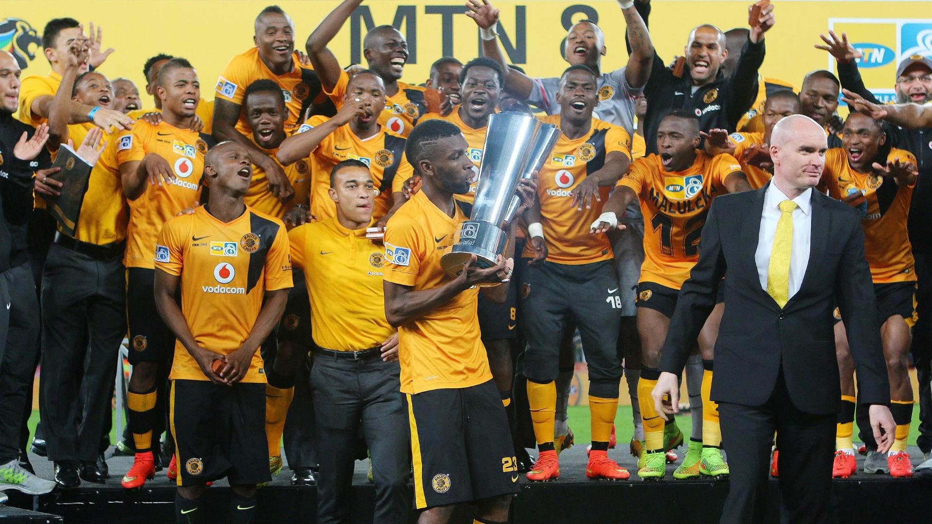 2014 MTN8 champions Kaizer Chiefs