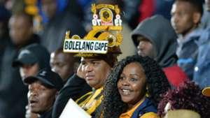 Kaizer Chiefs fans at the Bidvest Stadium