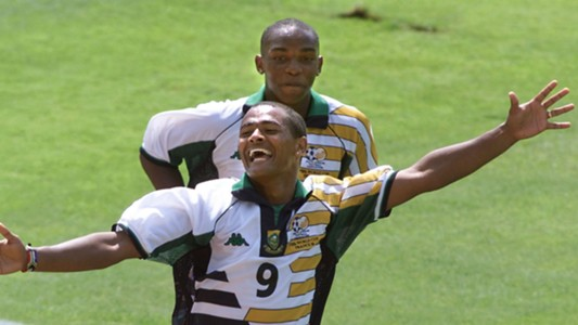Shaun Bartlett and Benni McCarthy