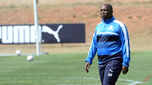 Pitso Mosimane head coach of Sundowns