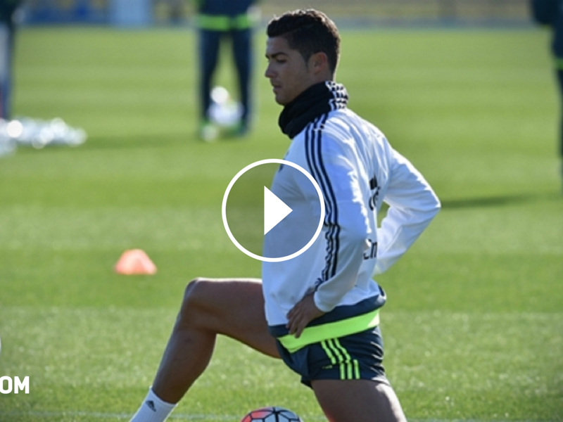 Video Disguised Cristiano Ronaldo Shows Off Skills On Streets Of