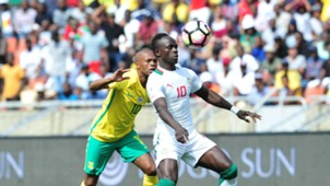 Thulani Serero and Sadio Mane