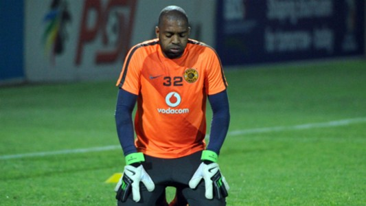Itumeleng Khune in action for Kaizer Chiefs
