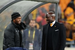 Itumeleng Khune and Steve Komphela