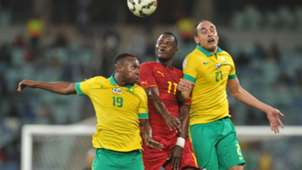 May Mahlangu and Eleazar Rodgers against Mubarak Wakaso