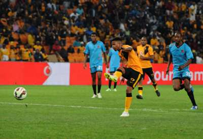 Kaizer Chiefs midfielder George Lebese