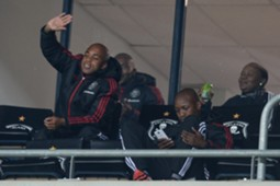 Oupa Manyisa, Orlando Pirates, March 2016.