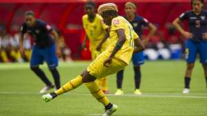 Gaelle Enganamouit #17 of Cameroon FIFA Women's World Cup Canada 2015 Group C Match vs Ecuador June, 8, 2015