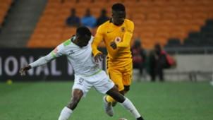 Siphiwe Mnguni and Edmore Chirambadare - Kaizer Chiefs v Platinum Stars