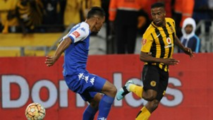 William Twala of Kaizer Chiefs and Michael Boxall of SuperSport UnitedWilliam Twala of Kaizer Chiefs and Michael Boxall of SuperSport United