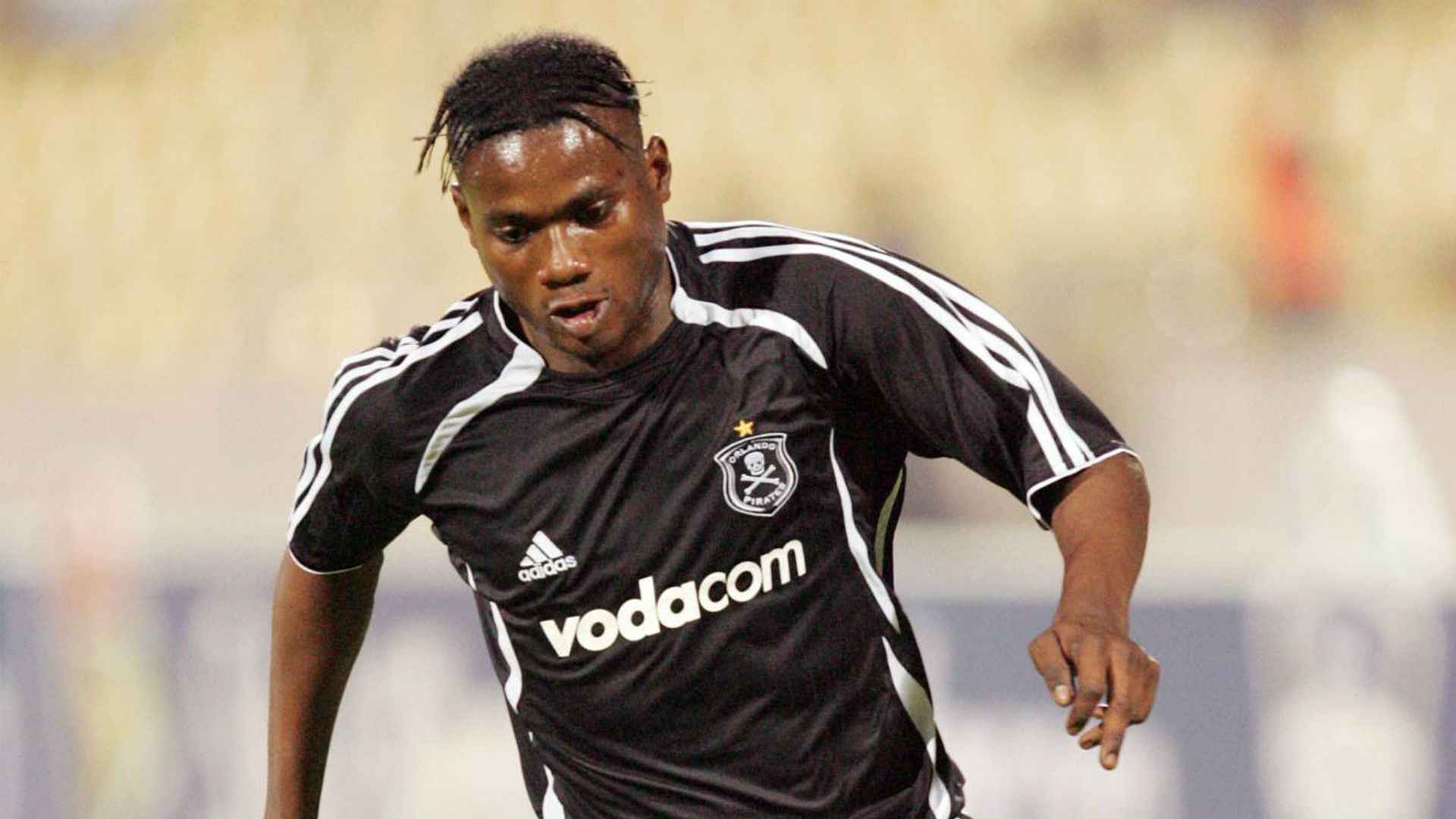 Lelo Mbele during his days at Pirates