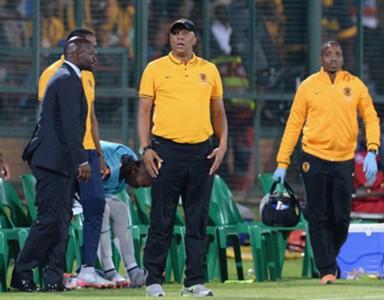 Doctor Khumalo and Steve Komphela - Kaizer Chiefs