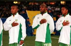 Quinton Fortune, Benni McCarthy and David Kannemeyer 2000 Sydney Olympics