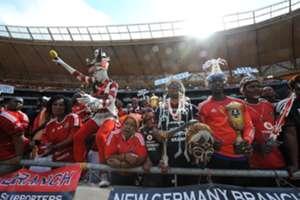 Bucs fans, Orlando Pirates, Kaizer Chiefs, March 2016