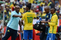 Teko Modise & Khama Billiat with Pitso Mosimane