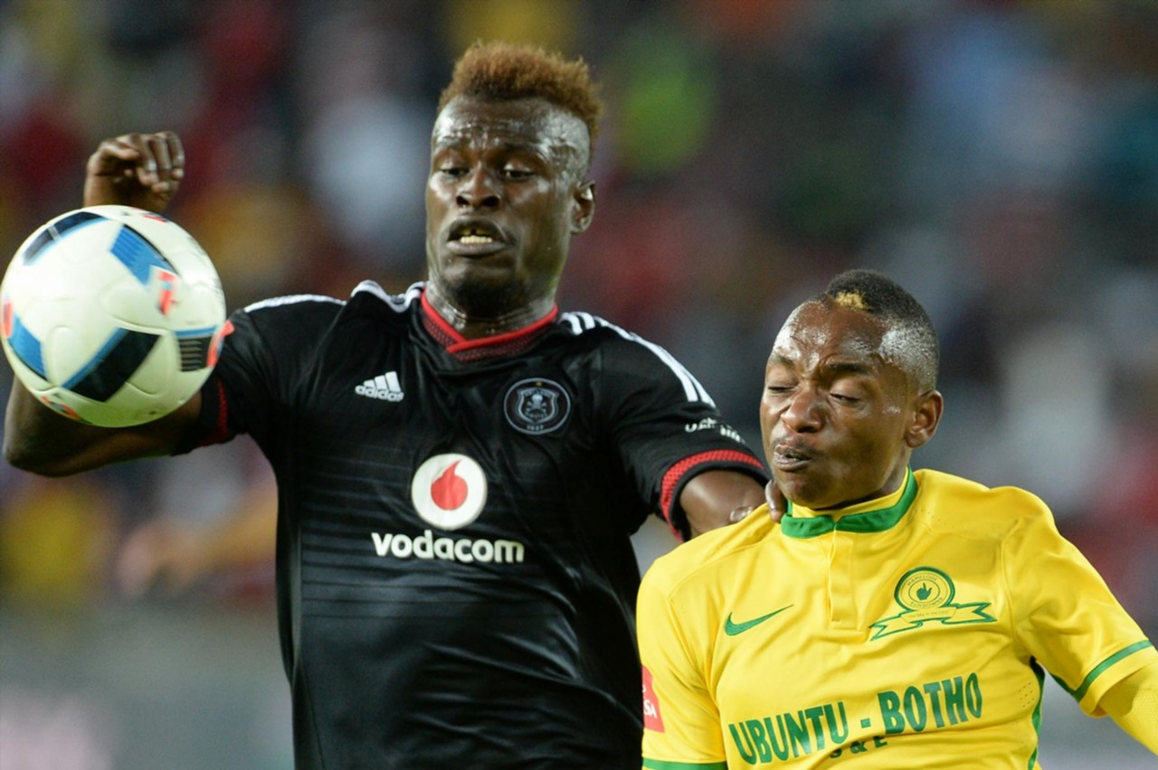 Edwin Gyimah of Pirates & Khama Billiat