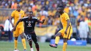 Mpho Makola and Kgotso Moleko