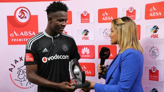 Justice Chabalala of Orlando Pirates
