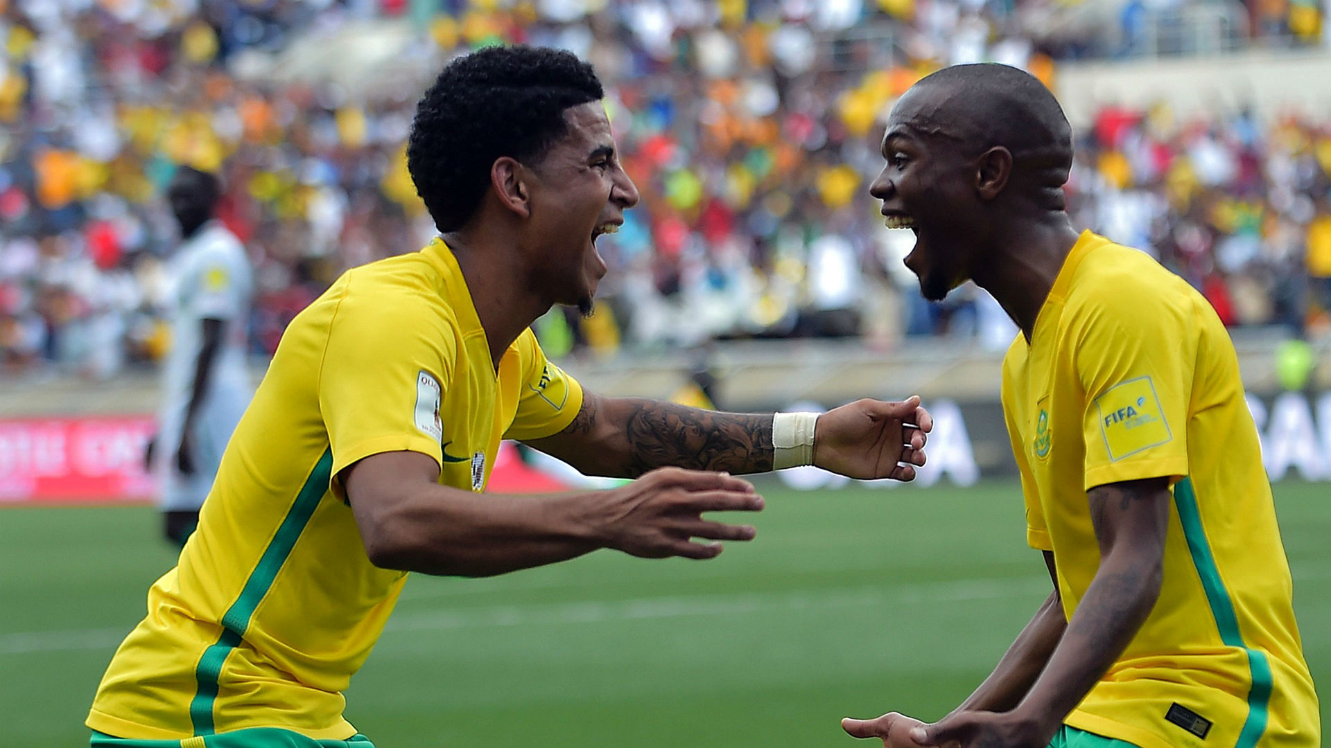 Keagan Dolly & Thulani Serero