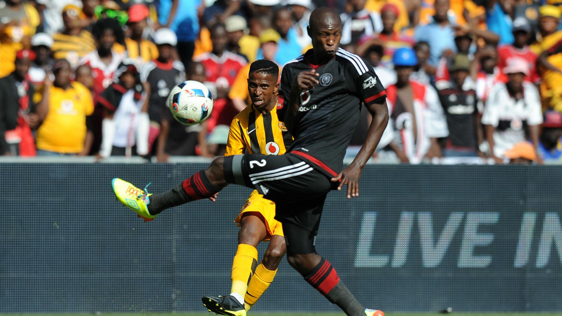 Ayanda Gcaba and William Twala - Pirates v Chiefs