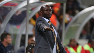 Steve Komphela of Kaizer Chiefs on the touchline