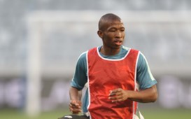 Kamohelo Mokotjo, Bafana Bafana, March 2016.
