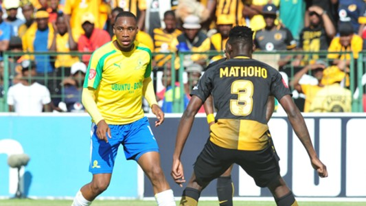 Sibusiso Vilakazi and Erick Mathoho - Sundowns v Chiefs