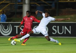 Bongani Khumalo of Wits & Moeketsi Sekola of Free State Stars