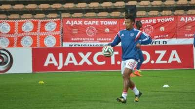 Granwald Scott, Ajax Cape Town, September 2014