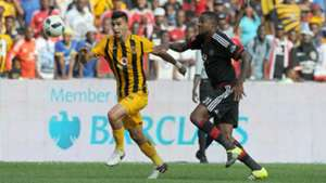 Lorenzo Gordinho and Thamsanqa Gabuza - Pirates vs Chiefs