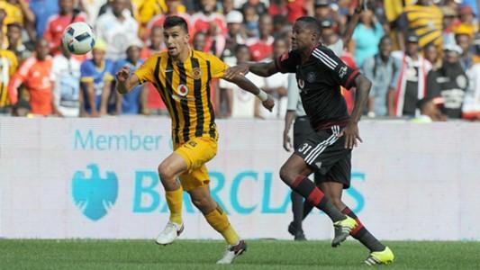 Lorenzo Gordinho and Thamsanqa Gabuza - Pirates vs Chiefs