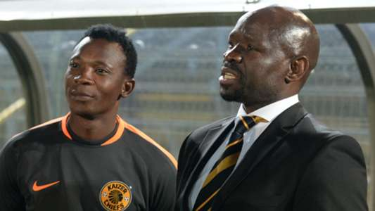 John Paintsil and Steve Komphela of Kaizer Chiefs