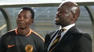 John Paintsil and Steve Komphela of Kaizer Chiefs