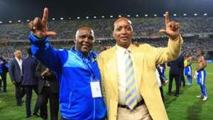Pitso Mosimane & Patrice Motsepe
