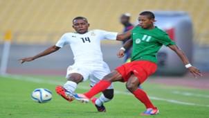 Rakotoharimalala Martin (Madagascar) & Joshua Tijani (Ghana) Cosafa Cup 25 May 2015