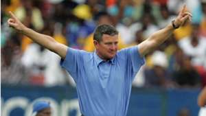 Gavin Hunt during his time at SuperSport United