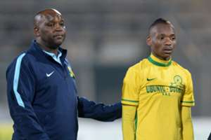 Pitso Mosimane & Khama Billiat