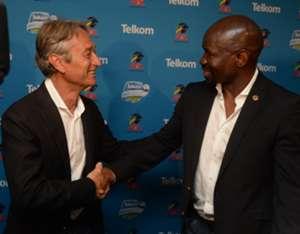 Muhsin Ertugral, Mpumalanga Black Aces and Steve Komphela, Kaizer Chiefs