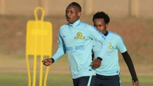 Khama Billiat in training for Sundowns