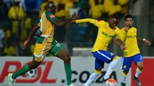 Musa Bilankulu and Khama Billiat - Mamelodi Sundowns v Golden Arrows