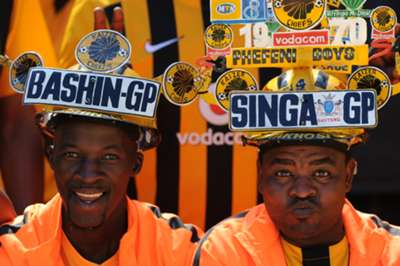 Kaizer Chiefs fans at FNB Stadium