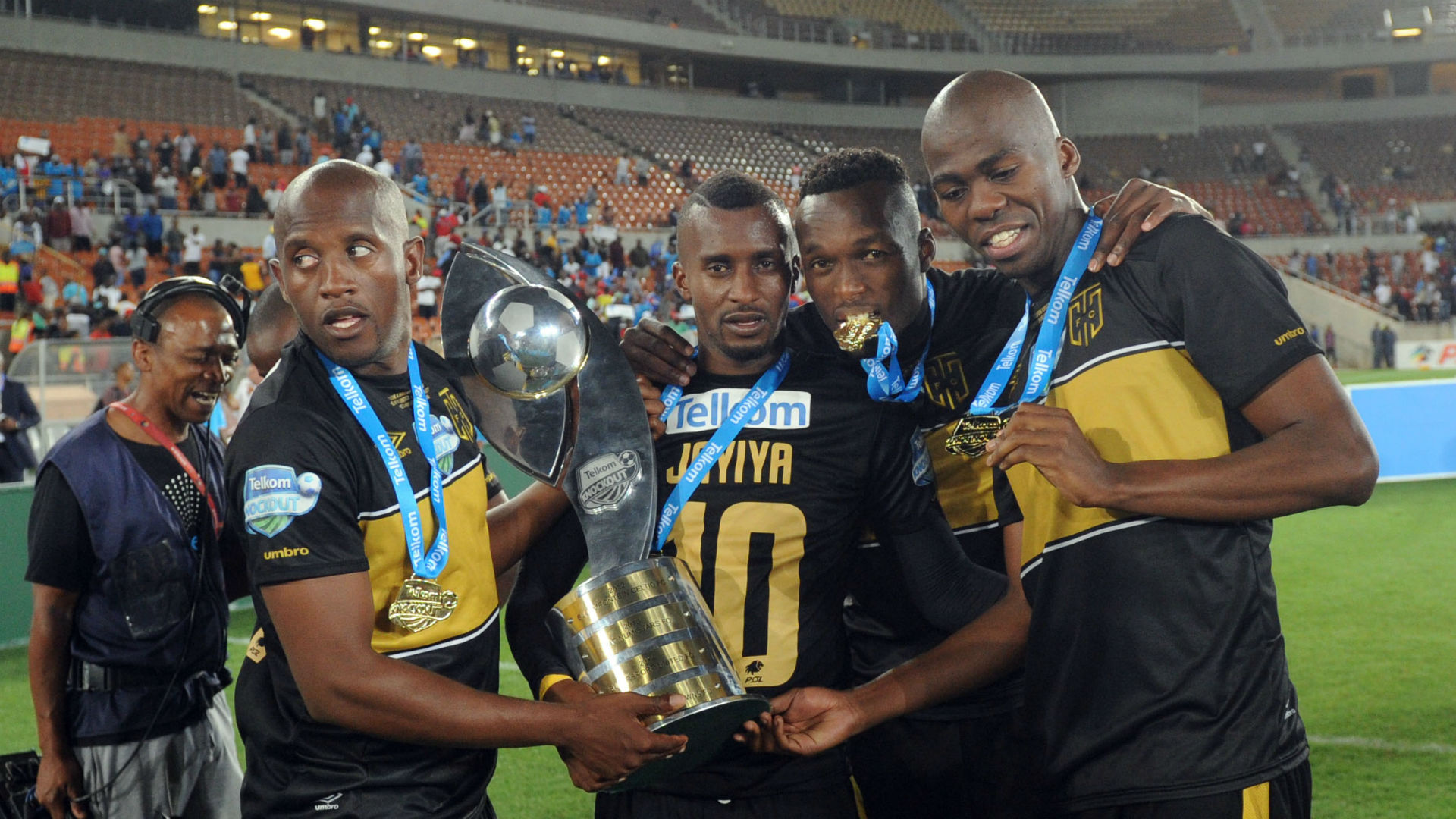 Vincent Kobola, Bhongolethu Jayiya, Sibusiso Masina & Mpho Matsi