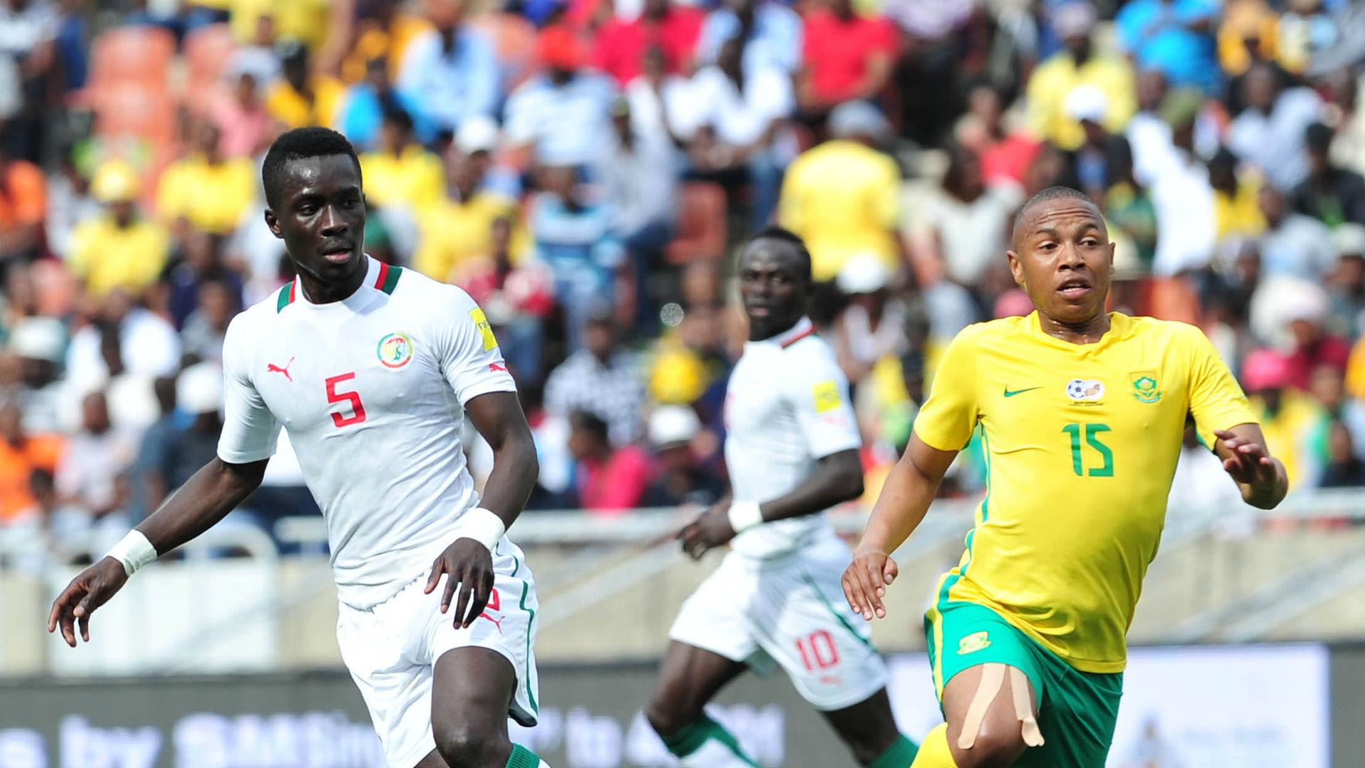 Idrissa Gana Gueye & Andile Jali