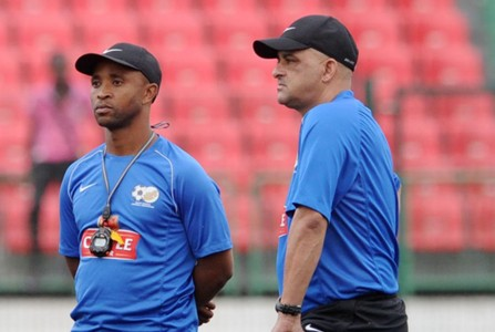 Owen Da Gama and Thabo Senong