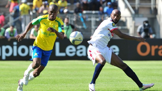 Asavela Mbekile and Mahmoud Fadlalla - Sundowns vs Zamalek
