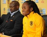 Siphiwe Tshabalala and Steve Komphela