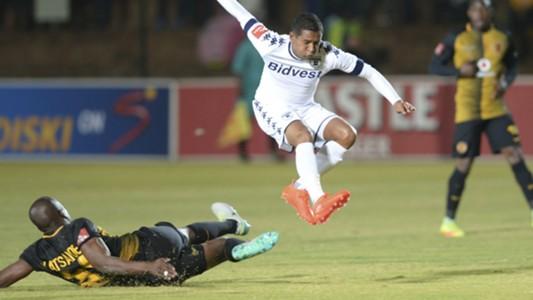 Willard Katsande and Daine Klate - Chiefs v Wits