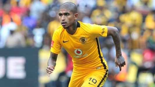 Keagan Buchanan of Kaizer Chiefs