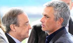 Florentino Perez & Jose Mourinho